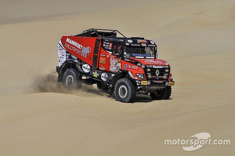 Van den Brink en Dollevoet uit Dakar Rally 2018