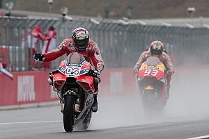 MotoGP Rennbericht MotoGP 2017 in Motegi: Dovizioso bezwingt Marquez in letzter Kurve