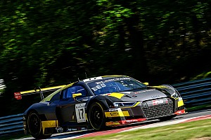 Blancpain Sprint Race report Leonard and Vervisch lead Audi 1-2-3 at Brands Hatch