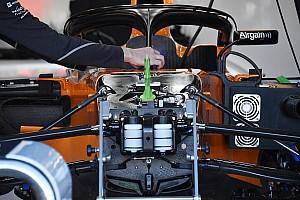 McLaren: i cinematismi della sospensione restano nella scocca