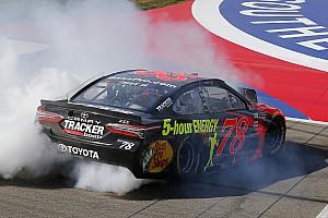 NASCAR Cup Отчет о гонке Труэкс выиграл гонку NASCAR в Фонтане