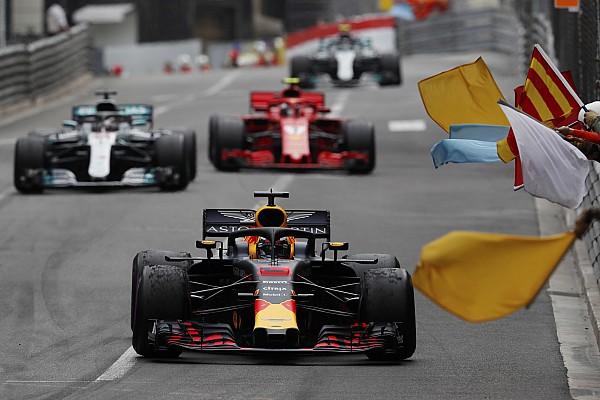 Fórmula 1 Noticias El motor de Ricciardo tenía 25% menos de potencia en Mónaco