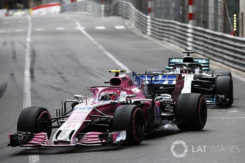 Force India wuift complottheorie Mercedes weg