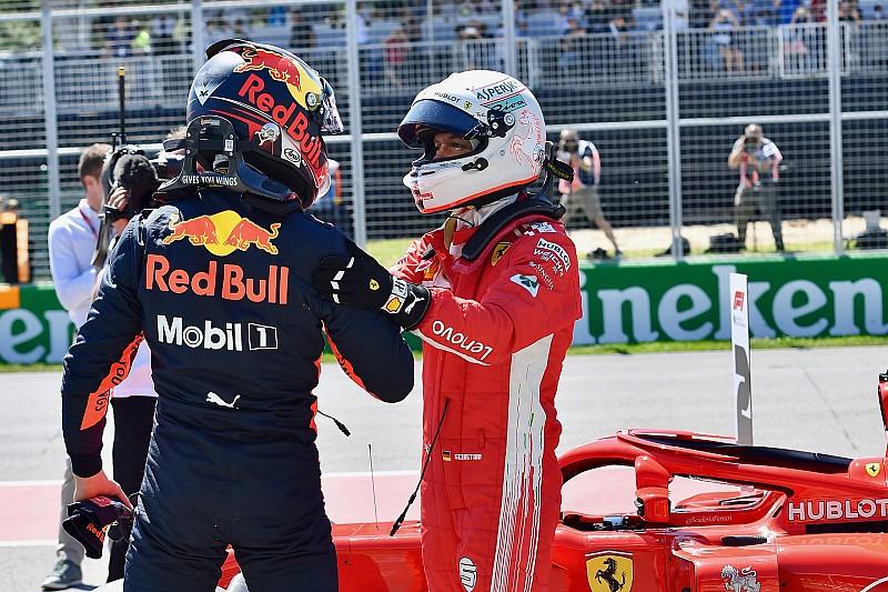 Verstappen: Galibiyet için Ferrari ve Mercedes'le savaşabiliriz