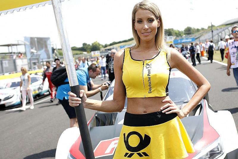 Képek a Hungaroringről: rajtrácslányok, autók, versenyzők...