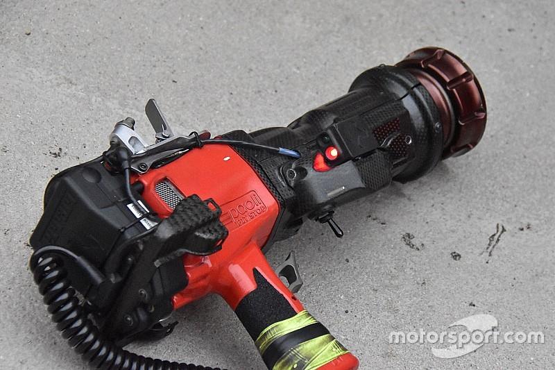 Ferrari: ci sono nuovi led sulle pistole del pit stop della Rossa