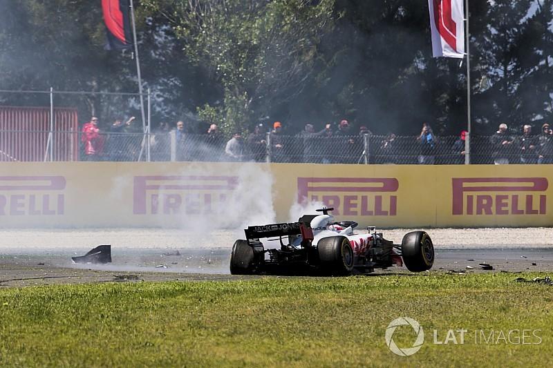 """Haas : Grosjean est devenu une """"cible facile"""""""