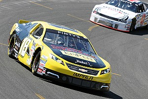 NASCAR Canada Race report Tagliani edges Lapcevich to win again at Sunset Speedway