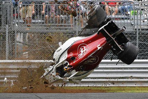 Fotostrecke: Marcus Ericssons schwerer Unfall in Monza