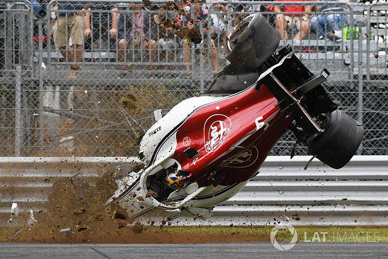 Fotos: los accidentes de la temporada 2018 de F1