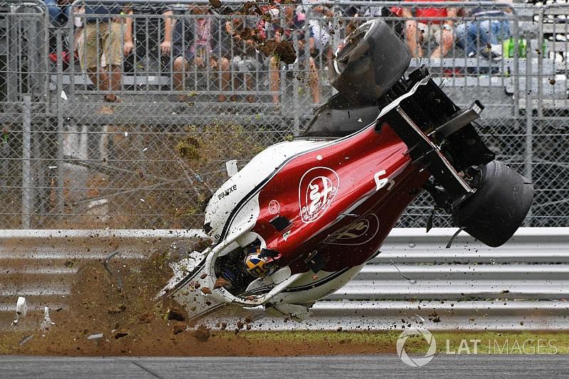 معرض صور: حادث إريكسون في مونزا