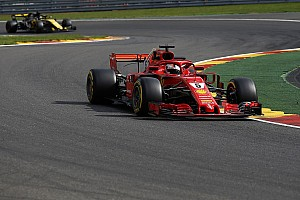 EL1 - Vettel en tête, Ricciardo coincé au garage