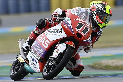 Moto3: Sergio Garcia dominates wet French Grand Prix