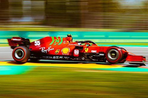Sainz, Ferrari ile evindeki ilk sıralamadan mutlu, lastik aşınmasından endişeli