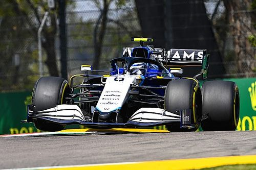 Williams lovend over progressie Latifi op Imola