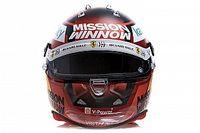 Ferrari показала шлем Сайнса для нового сезона