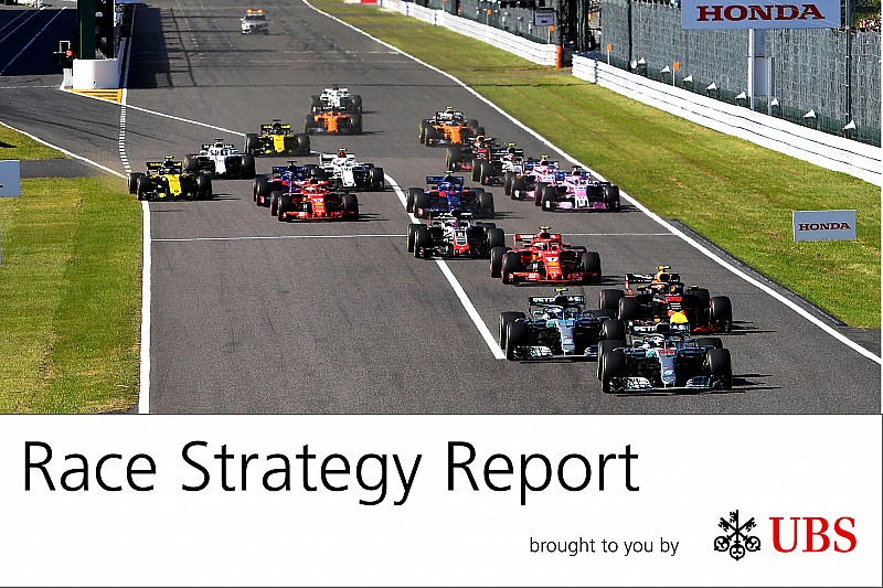 Strategy Report: Ferrari gifts Mercedes win, as midfield epic unfolds