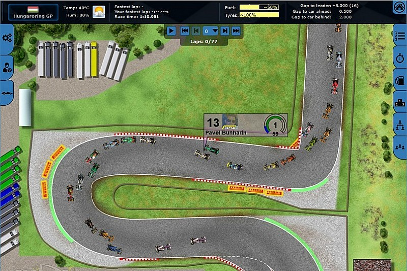 Promoted: Master the pitwall with Grand Prix Racing Online