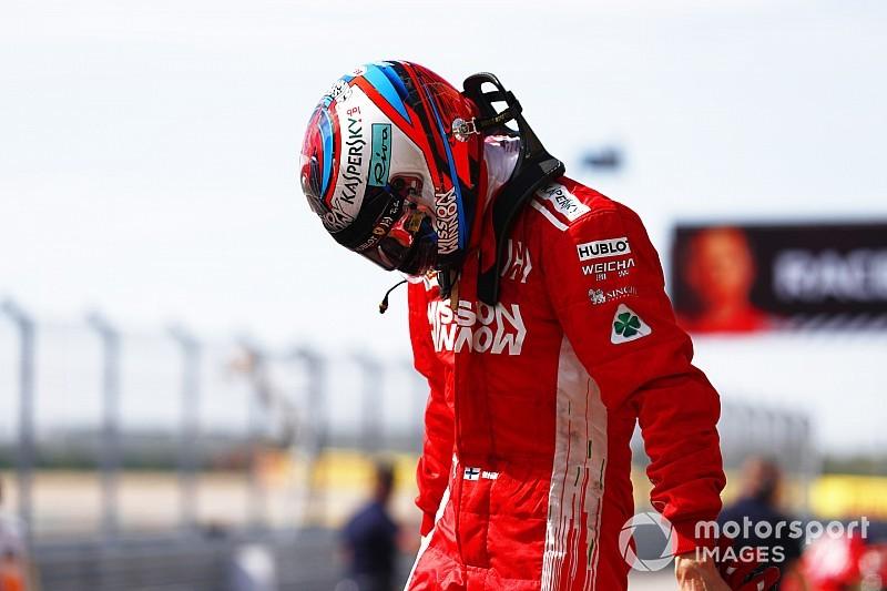 Räikkönen azért távozik a Ferraritól, mert nem tud olaszul?!