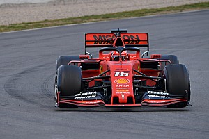 Leclerc keeps Ferrari on top in second morning of F1 test