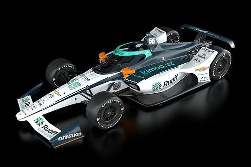 Se presentó la decoración que tendrá Alonso en Indy 500