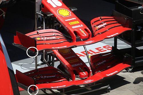フェラーリ、第2戦に新型フロントウイング投入。パフォーマンス改善なるか?
