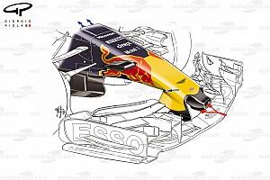 F1 Análisis Técnica: Cómo asimiló Red Bull un concepto de Mercedes