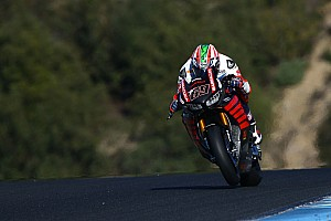 World Superbike Breaking news Hayden says new Fireblade's test pace not representative