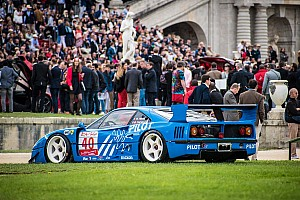 Retro Special feature Ferrari's stelen de show tijdens evenement Chantilly Arts and Elegance Richard Mille