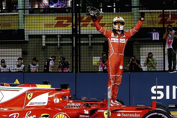Formel 1 2017 in Singapur: Vettels Ferrari