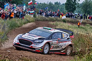 WRC Stage report Poland WRC: Evans leads Neuville in Thursday superspecial