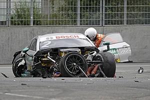 DTM News DTM 2017 am Norisring: Schwerer Unfall, Rennen unterbrochen