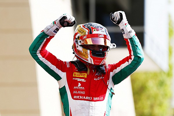 FIA F2 Reporte de la carrera Impresionante victoria de Leclerc en la carrera del domingo de la F2