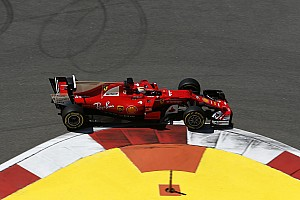 Russian GP: Vettel leads Ferrari 1-2 in second practice