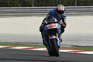 MotoGP Practice report Malaysian MotoGP: Miller tops damp FP2, Marquez absent