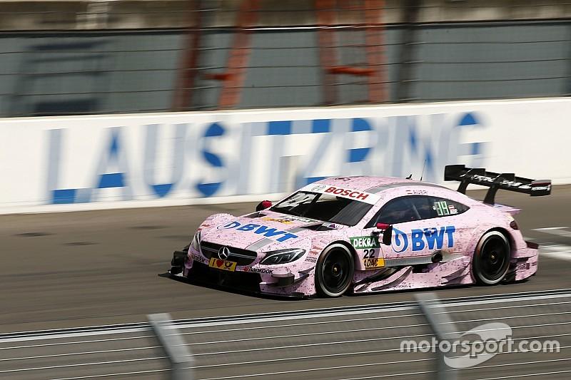 DTM Lausitzring: Mercedes-Fahrer Lucas Auer mit souveränem ersten Sieg
