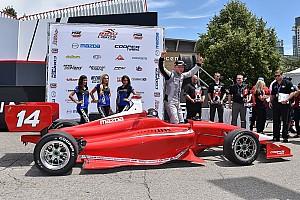 Indy Lights Репортаж з гонки Росенквіст відмінно закінчує вікенд у Торонто