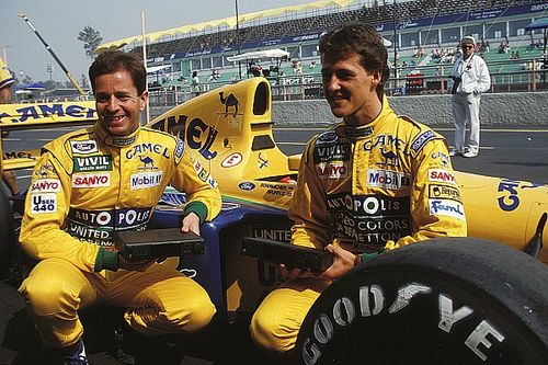 Briatore : Brundle, meilleur équipier de Schumacher chez Benetton
