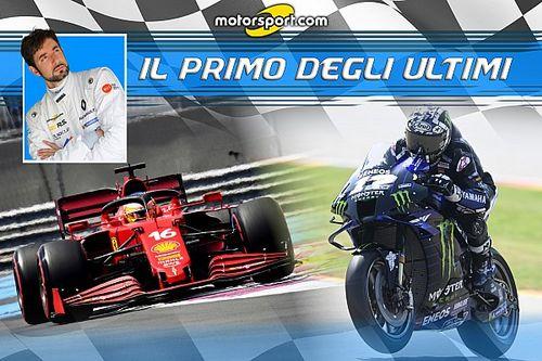 Vinales e Ferrari: bocciature pesanti in MotoGP e F1