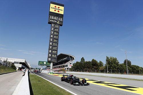 Así es el primer borrador de la pretemporada 2022 de la F1