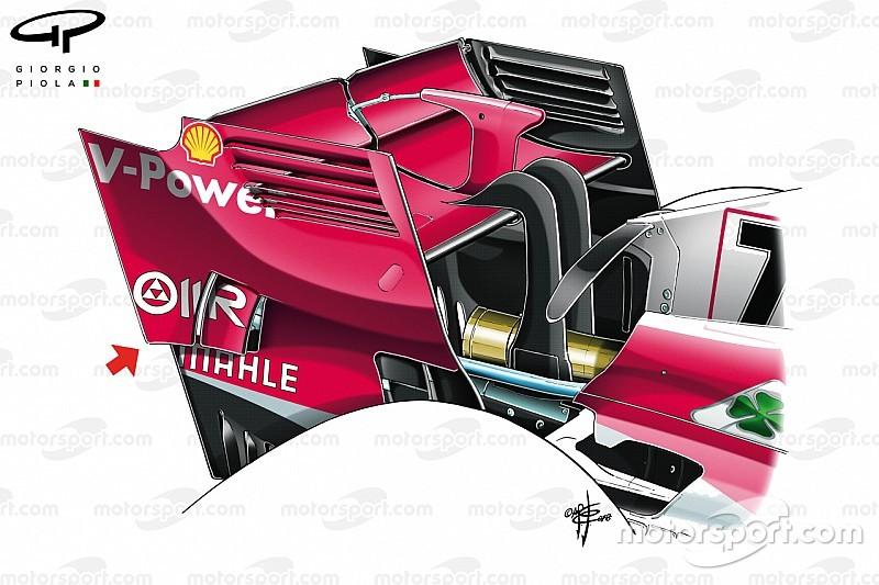 Ferrari también copia una idea de McLaren