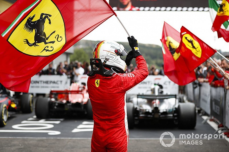 Vettel escribe a Ferrari: