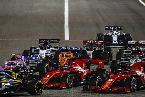 Vettel'in telsiz konuşmalarından sonra Ferrari ikilisi arayı düzeltmiş