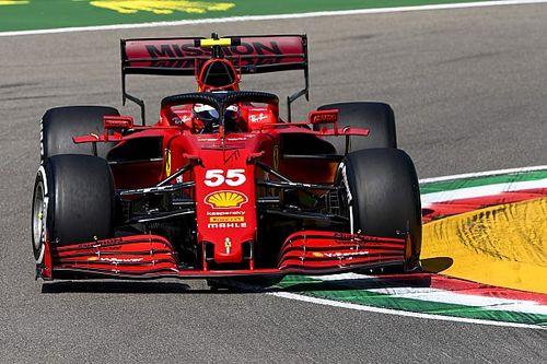 Sainz: ''Ferrari aracında az tur attığım için üçüncü bölüme çıkamadım''