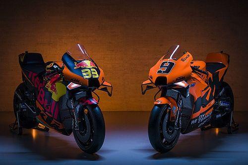 KTM presenta su moto para la temporada 2021 de MotoGP