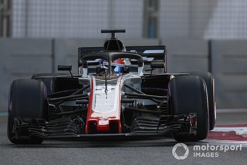 Abu Dhabi, Test Pirelli F1: bandiera rossa, si è rotto il motore sulla Haas di Fittipaldi