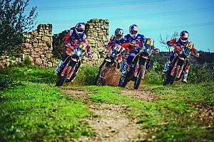 La 'armada' de KTM, lista para seguir reinando en el Dakar