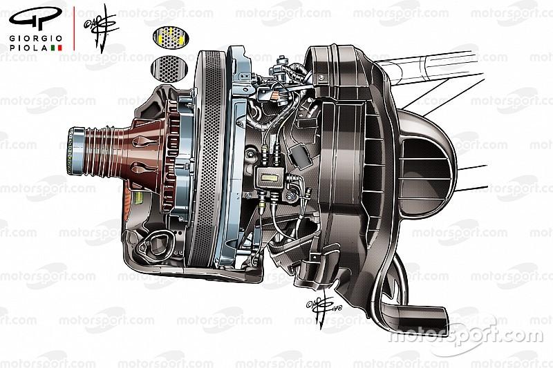 フェラーリ、メキシコで新世代ブレーキディスク採用。冷却用開口部は1400?