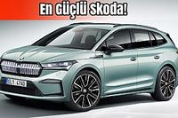 Skoda Enyaq iV Tanıtıldı   En Güçlü Skoda!   İlk Bakış