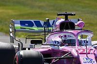 Racing Point: scaricata l'ala posteriore sulla RP20